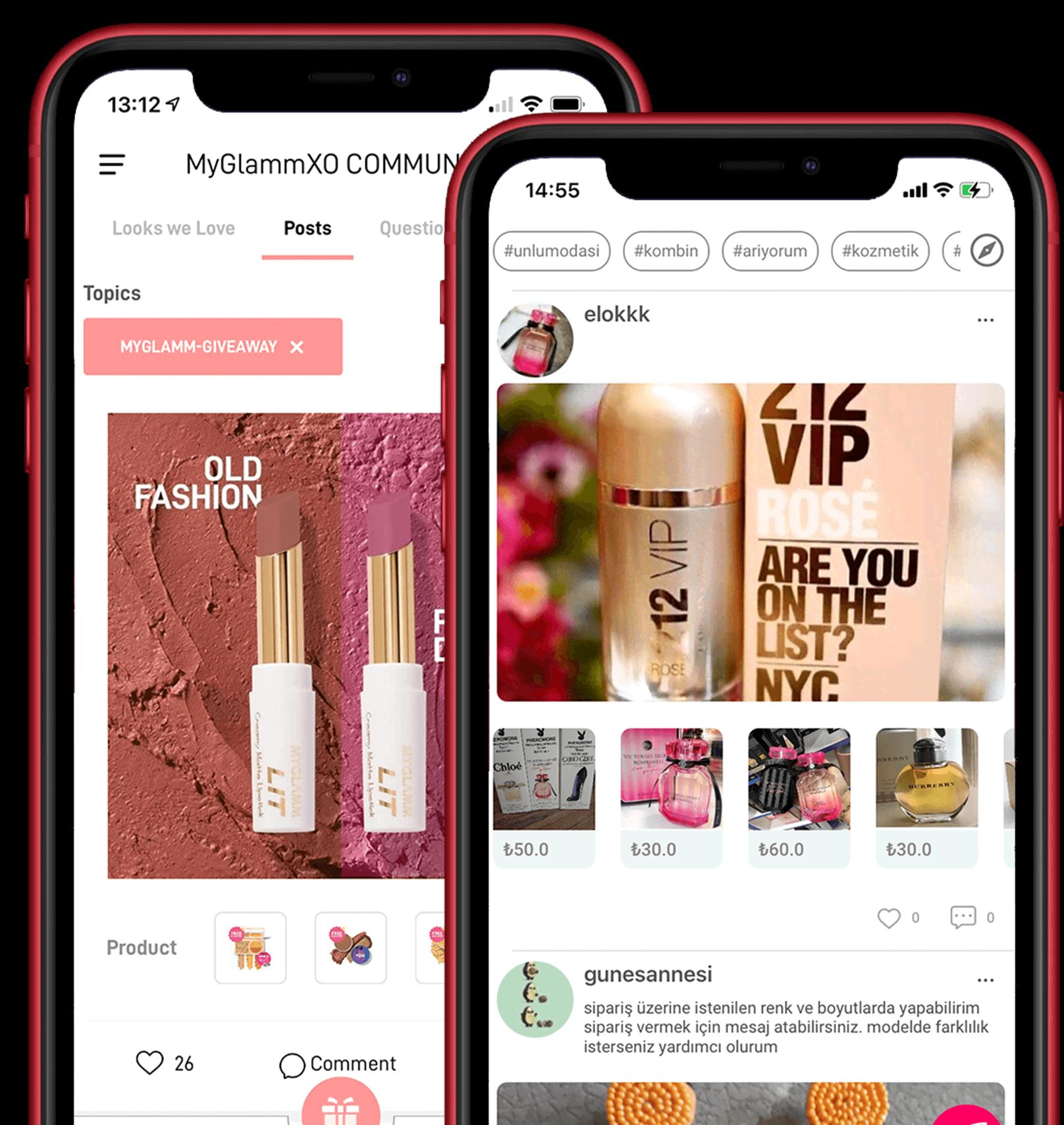 Shoppable feed