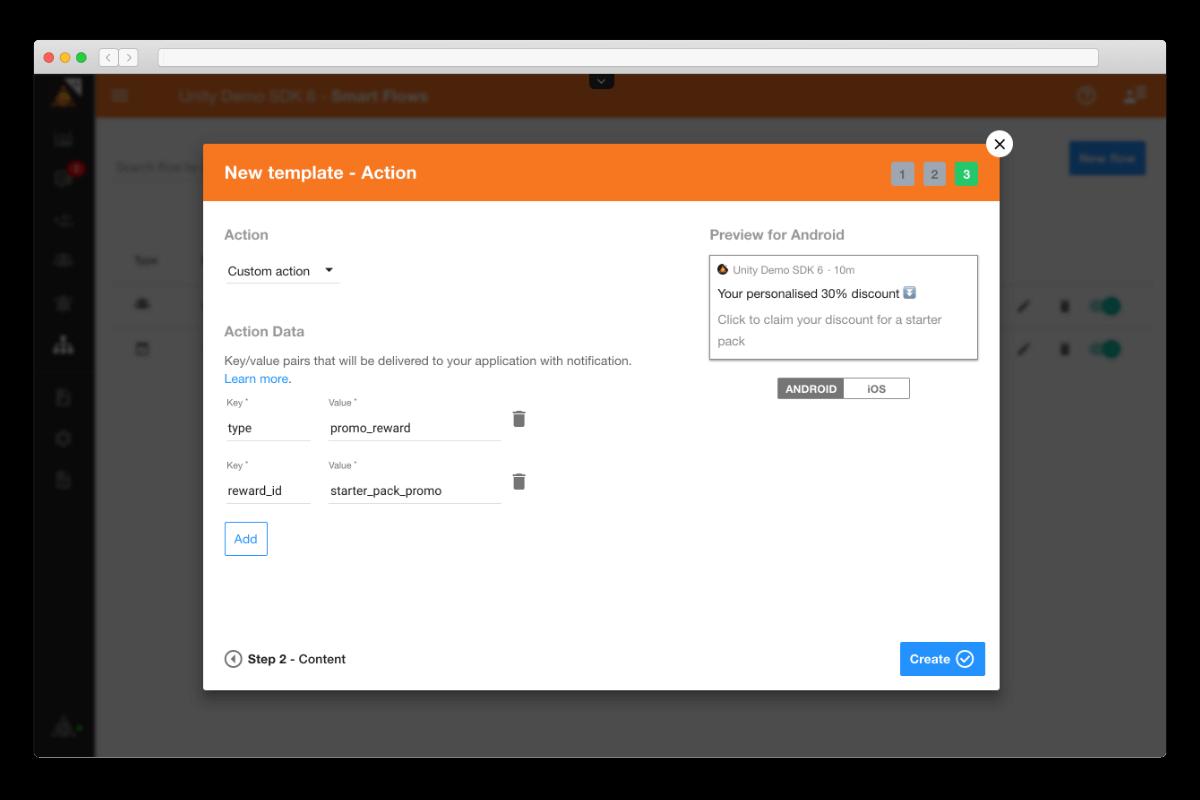 custom-action-notification-templates